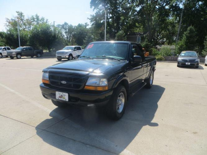 1999 BLACK FORD RANGER SUPER CAB (1FTZR15X2XP) with an 4.0L engine, Automatic transmission, located at 908 SE 14th Street, Des Moines, IA, 50317, (515) 281-0330, 41.580303, -93.597046 - Photo #0