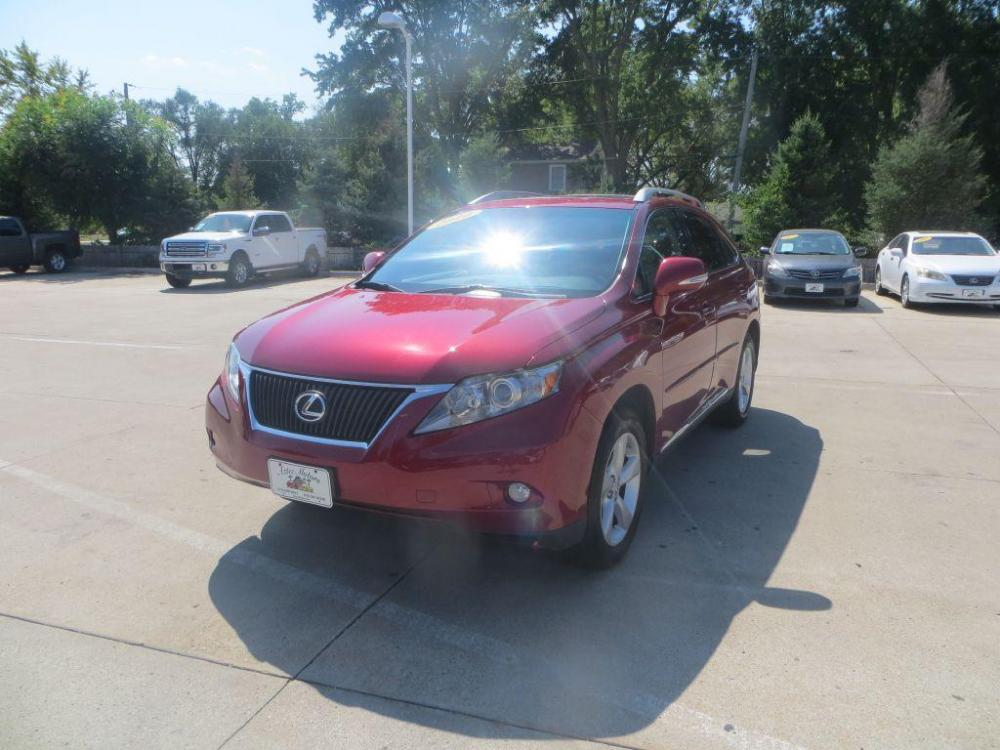 2010 RED LEXUS RX 350 (2T2BK1BA7AC) with an 3.5L engine, Automatic transmission, located at 908 SE 14th Street, Des Moines, IA, 50317, (515) 281-0330, 41.580303, -93.597046 - Photo #0