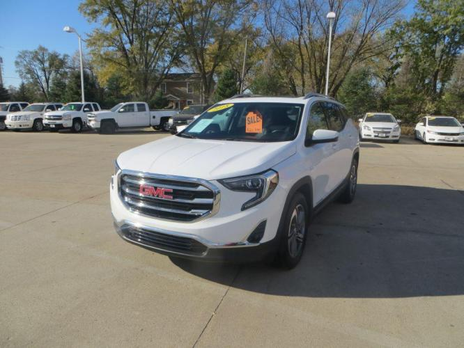 2018 WHITE GMC TERRAIN SLT (3GKALPEV5JL) with an 1.5L engine, Automatic transmission, located at 908 SE 14th Street, Des Moines, IA, 50317, (515) 281-0330, 41.580303, -93.597046 - Photo #0